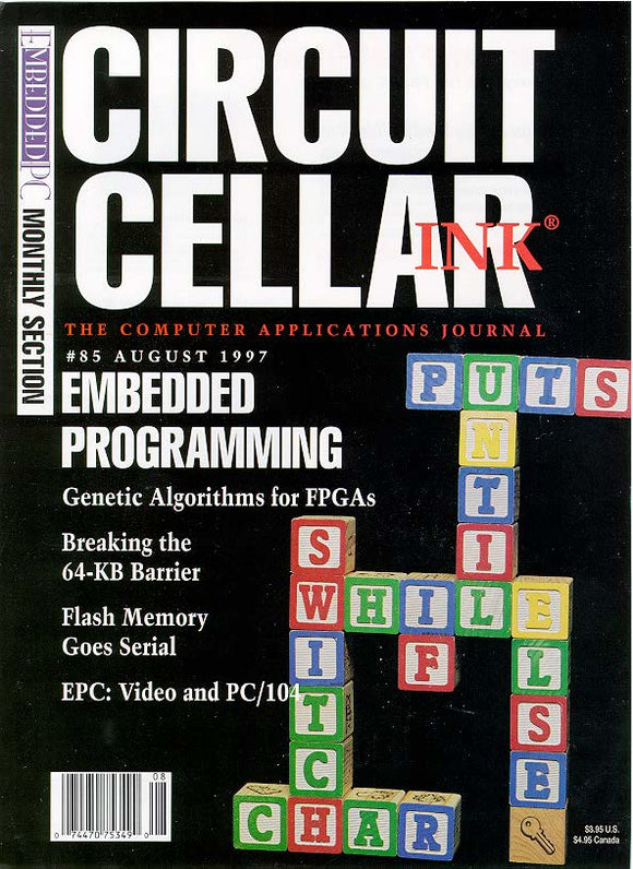 Circuit Cellar Issue 085 August 1997-PDF - CC-Webshop