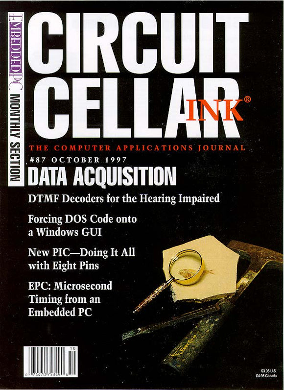 Circuit Cellar Issue 087 October 1997-PDF - CC-Webshop