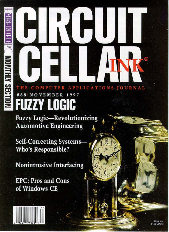 Circuit Cellar Issue 088 November 1997-PDF - CC-Webshop