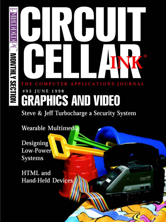 Circuit Cellar Issue 095 June 1998-PDF
