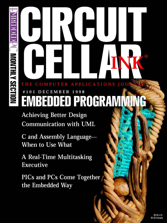 Circuit Cellar Issue 101 December 1998-PDF