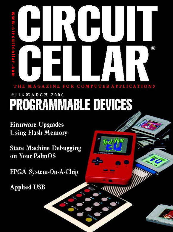 Circuit Cellar Issue 116 March 2000-PDF - CC-Webshop