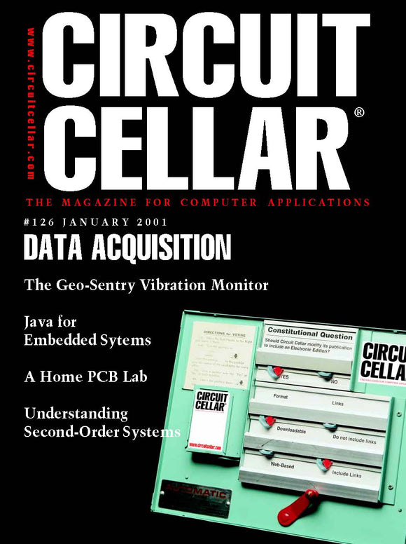 Circuit Cellar Issue 126 January 2001-PDF - CC-Webshop