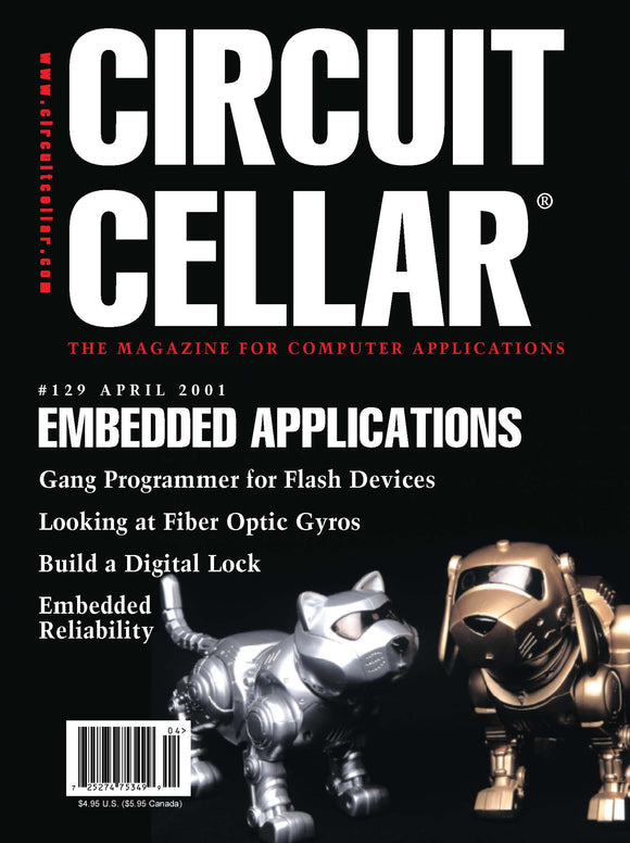 Circuit Cellar Issue 129 April 2001-PDF - CC-Webshop