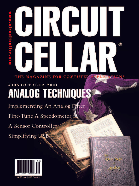 Circuit Cellar Issue 135 October 2001-PDF - CC-Webshop