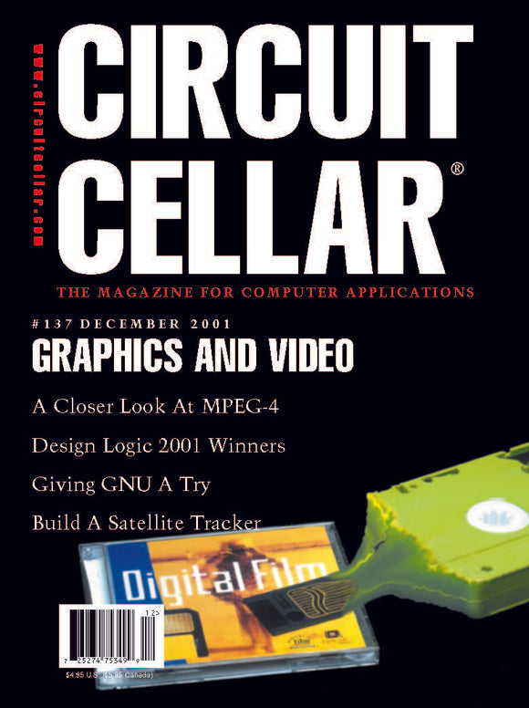 Circuit Cellar Issue 137 December 2001-PDF - CC-Webshop
