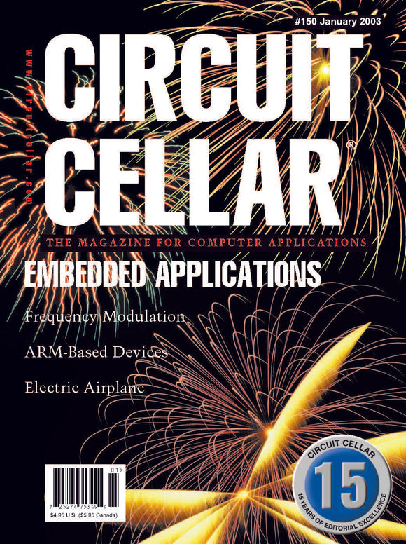 Circuit Cellar Issue 150 January 2003-PDF