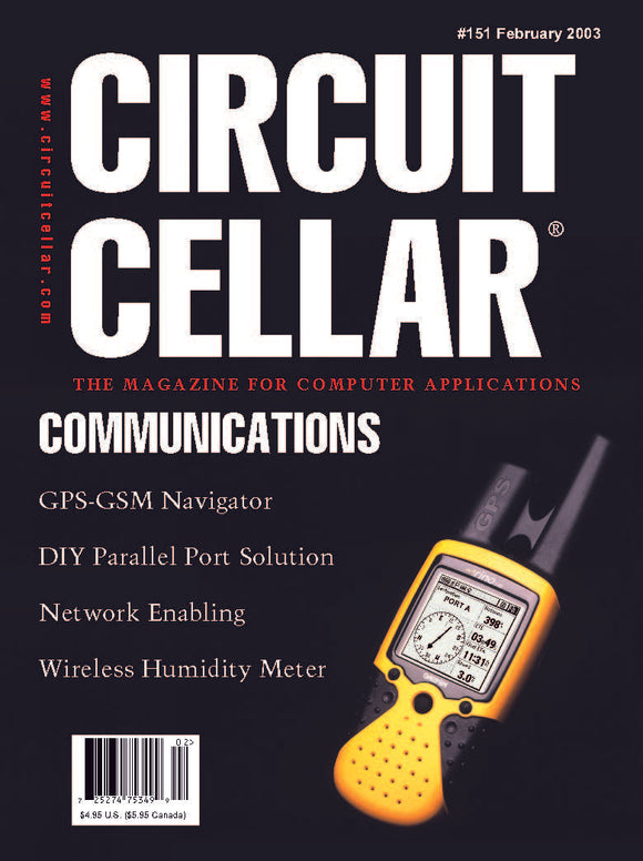 Circuit Cellar Issue 151 February 2003-PDF - CC-Webshop