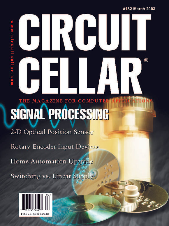 Circuit Cellar Issue 152 March 2003-PDF - CC-Webshop