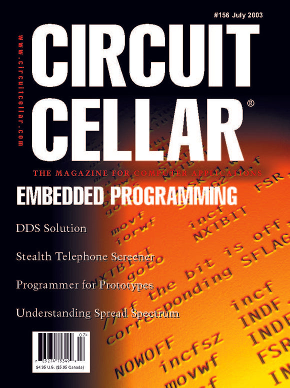 Circuit Cellar Issue 156 July 2003-PDF - CC-Webshop