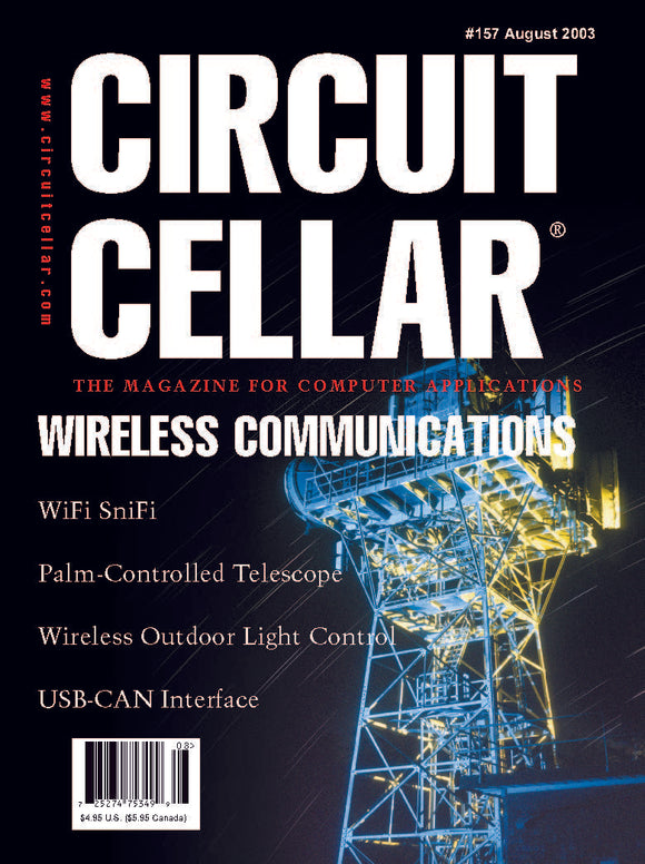 Circuit Cellar Issue 157 August 2003-PDF - CC-Webshop