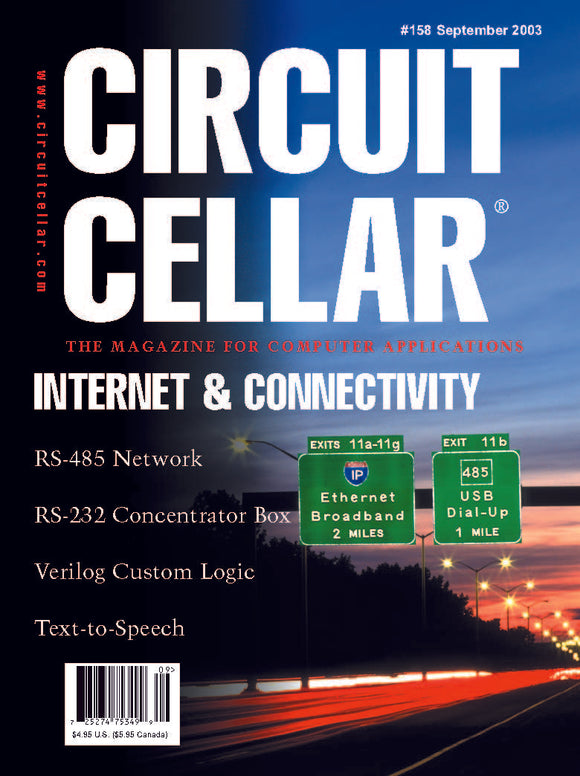 Circuit Cellar Issue 158 September 2003-PDF - CC-Webshop