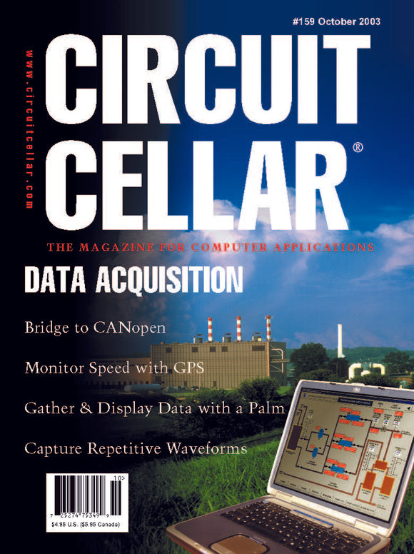 Circuit Cellar Issue 159 October 2003-PDF - CC-Webshop