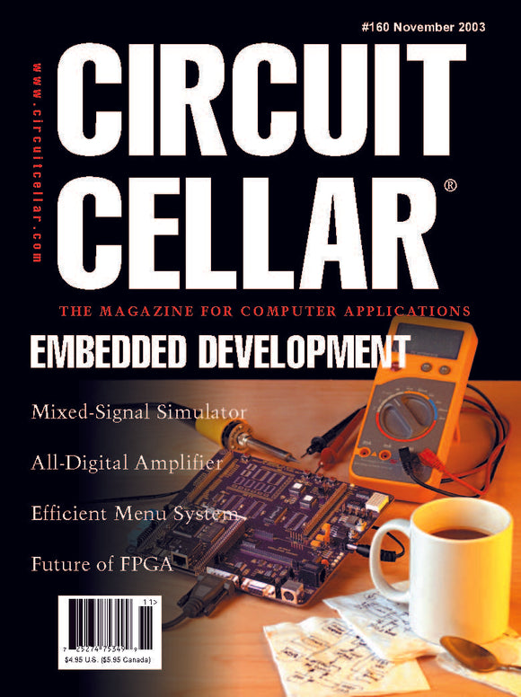 Circuit Cellar Issue 160 November 2003-PDF - CC-Webshop
