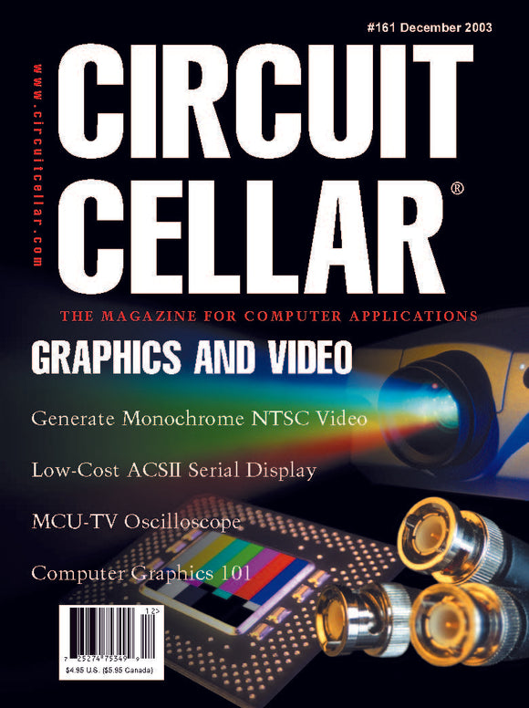 Circuit Cellar Issue 161 December 2003-PDF - CC-Webshop