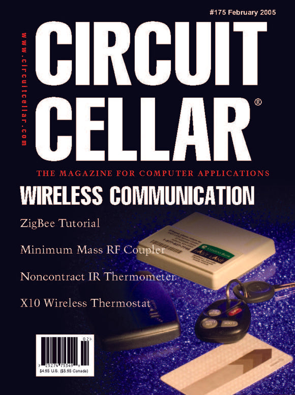 Circuit Cellar Issue 175 February 2005-PDF
