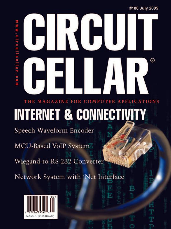 Circuit Cellar Issue 180 July 2005-PDF