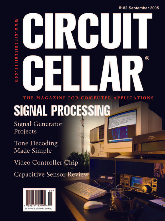 Circuit Cellar Issue 182 September 2005-PDF