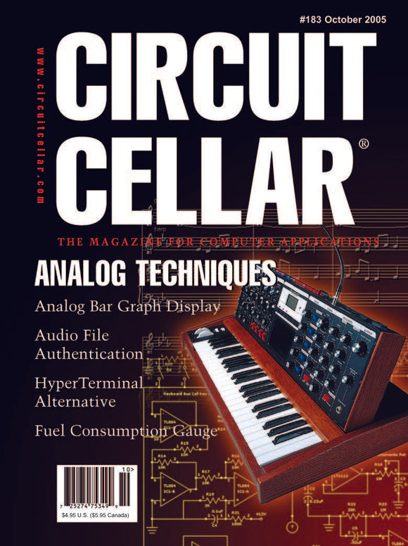 Circuit Cellar Issue 183 October 2005-PDF