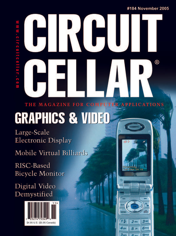 Circuit Cellar Issue 184 November 2005-PDF