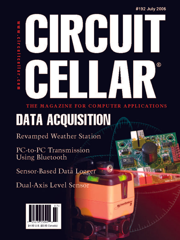 Circuit Cellar Issue 192 July 2006-PDF