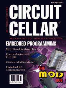 Circuit Cellar Issue 201 April 2007-PDF
