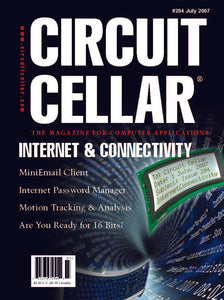 Circuit Cellar Issue 204 July 2007-PDF