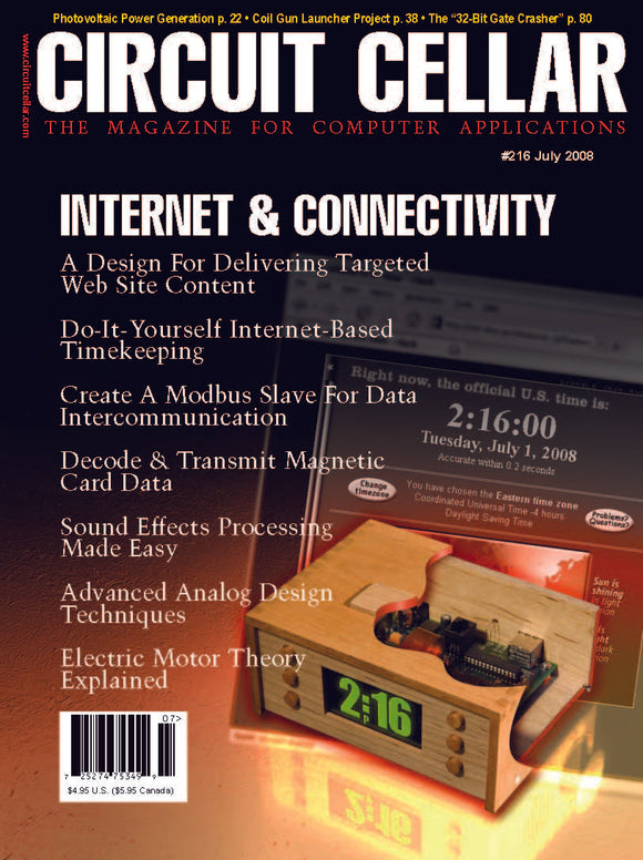 Circuit Cellar Issue 216 July 2008-PDF - CC-Webshop