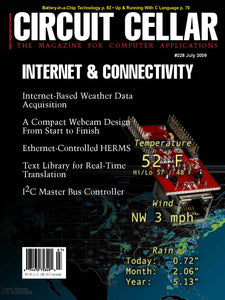 Circuit Cellar Issue 228 July 2009-PDF - CC-Webshop