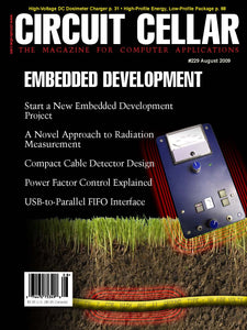 Circuit Cellar Issue 229 August 2009-PDF - CC-Webshop