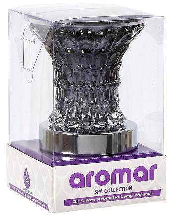 Aromar - Black glass electric oil warmer