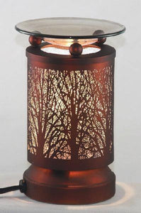 Brown Trees Electric Oil Warmer