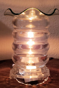 Electric Glass Oil Burner CLEAR