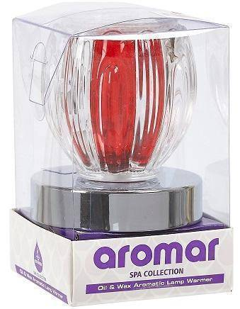 Image of Oil Diffuser - Touch Glass Lamp Red