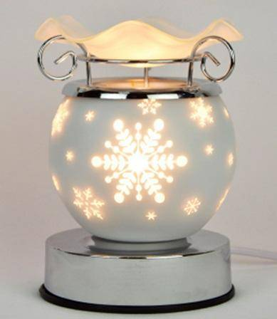 Snowflake Electric Oil Warmer