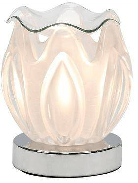 Touch Electric Oil Burner Glass Lamp Clear