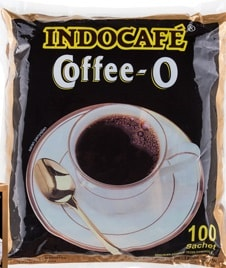 Indocafe coffee O Perforated 5 x 100 x 18 gr 1 Ctn (Isi 100 pcs)