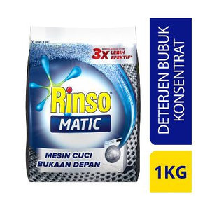 Rinso Matic Front Load 12x1kg 1 Ctn (Isi 12 pcs)