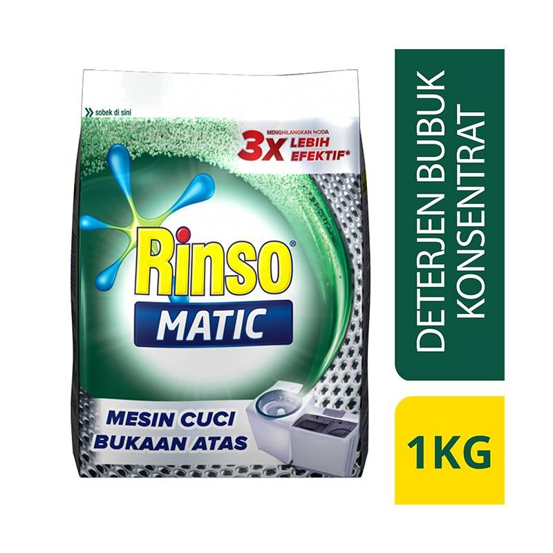 Rinso Matic Top Load 12x1kg 1 Ctn (Isi 12 pcs)