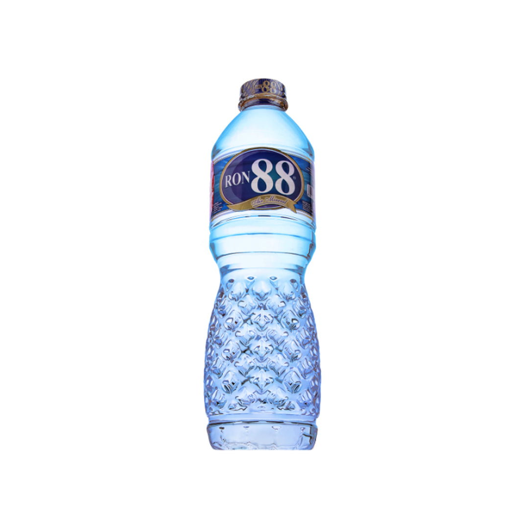Air Mineral Ron 88 Botol 600 ML 1 Ctn ( Isi 24 pcs)