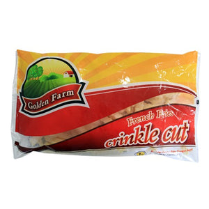 Golden Farm French Fries Crinkle Cut 2 Kg