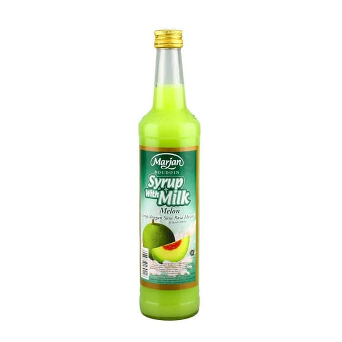 Marjan Syrup With Milk Melon 460ml 1 Ctn (Isi 12 Pcs)