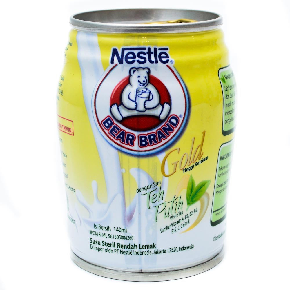 Bear Brand White Tea 140ml 1 Ctn (Isi 24 pcs)