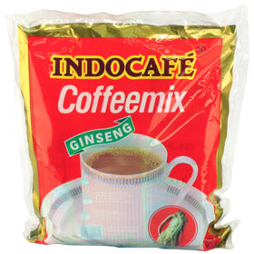 Indocafe coffeemix gingseng perforated  30 x 20 gr