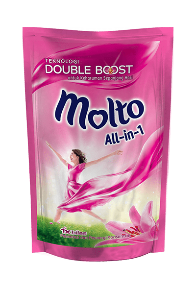 Molto Ultra Reffil All in One 300g 1 Ctn (Isi 24 pcs)