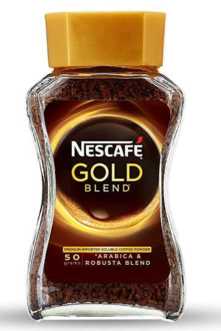 NESCAFE GOLD jar 50g 1 Ctn (Isi 12 pcs)