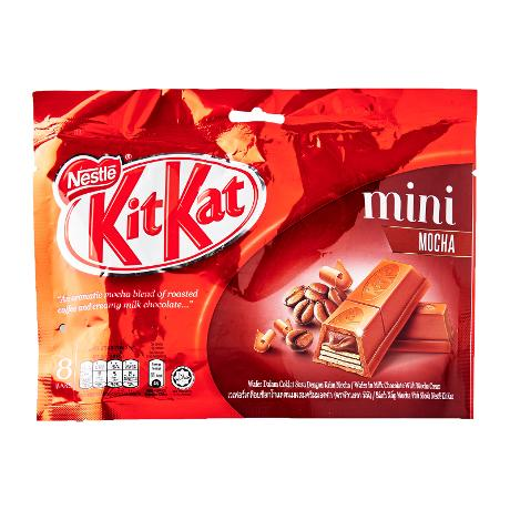 KIT KAT Mini Mocha 12(24x15g) 1 Ctn (Isi 24 pcs)