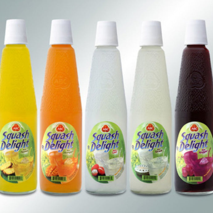 ABC Squash All Varian 525ml 1 Ctn (isi 12 Pcs)