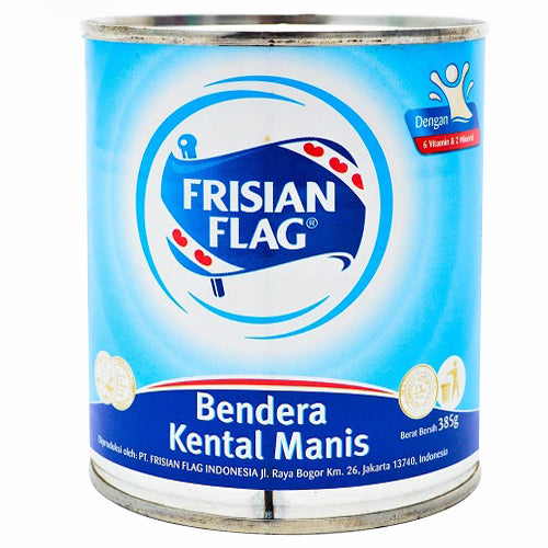 Frisian Flag Susu Kental Manis Can 370gr 1 Ctn (Isi 48 pcs)
