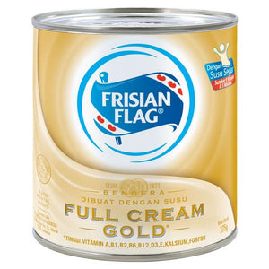 Frisian Flag Susu Kental Manis Gold Can 370gr 1 Ctn (Isi 48 pcs)